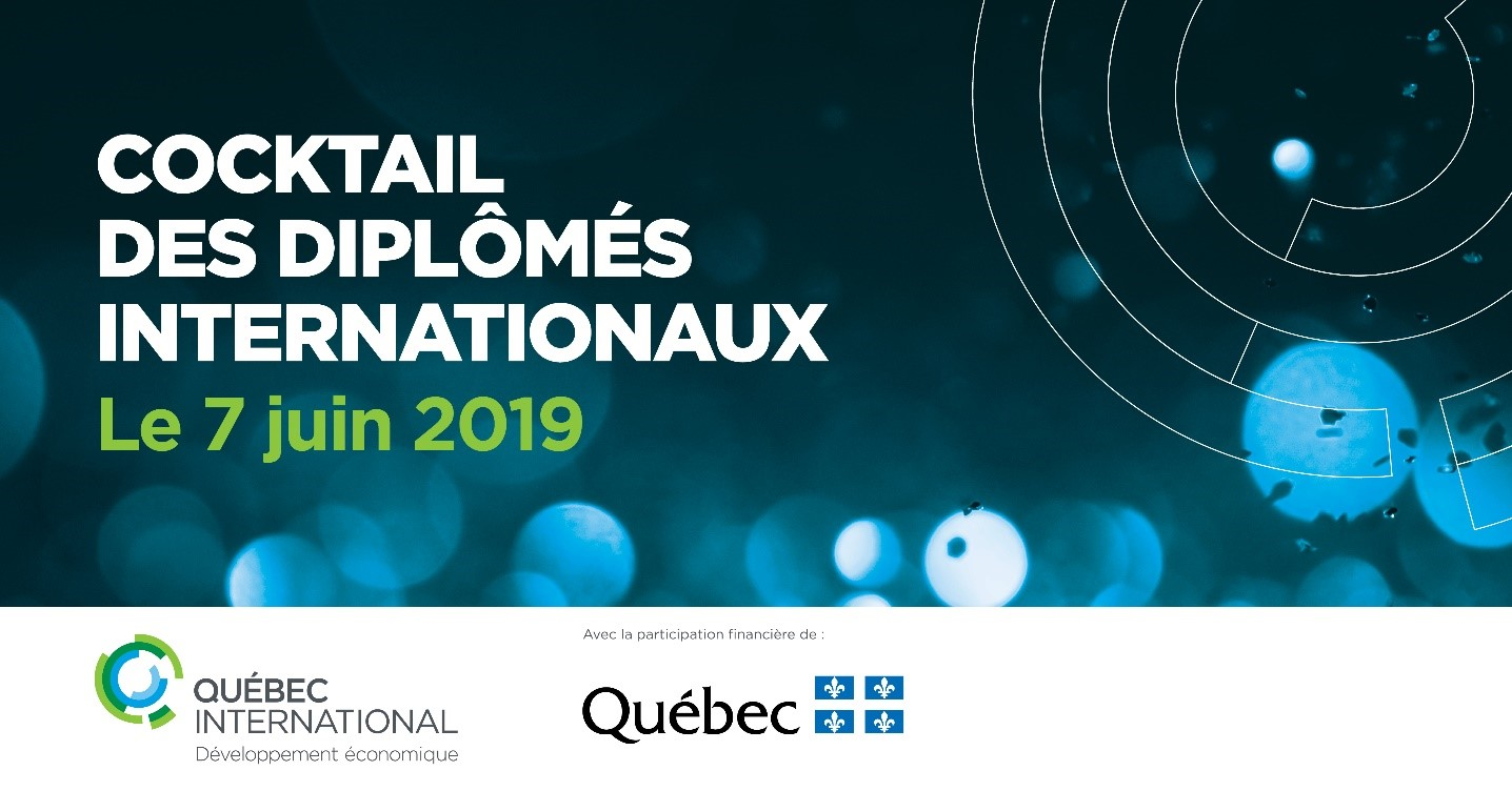 Cocktail des diplômés internationaux – Édition 2019