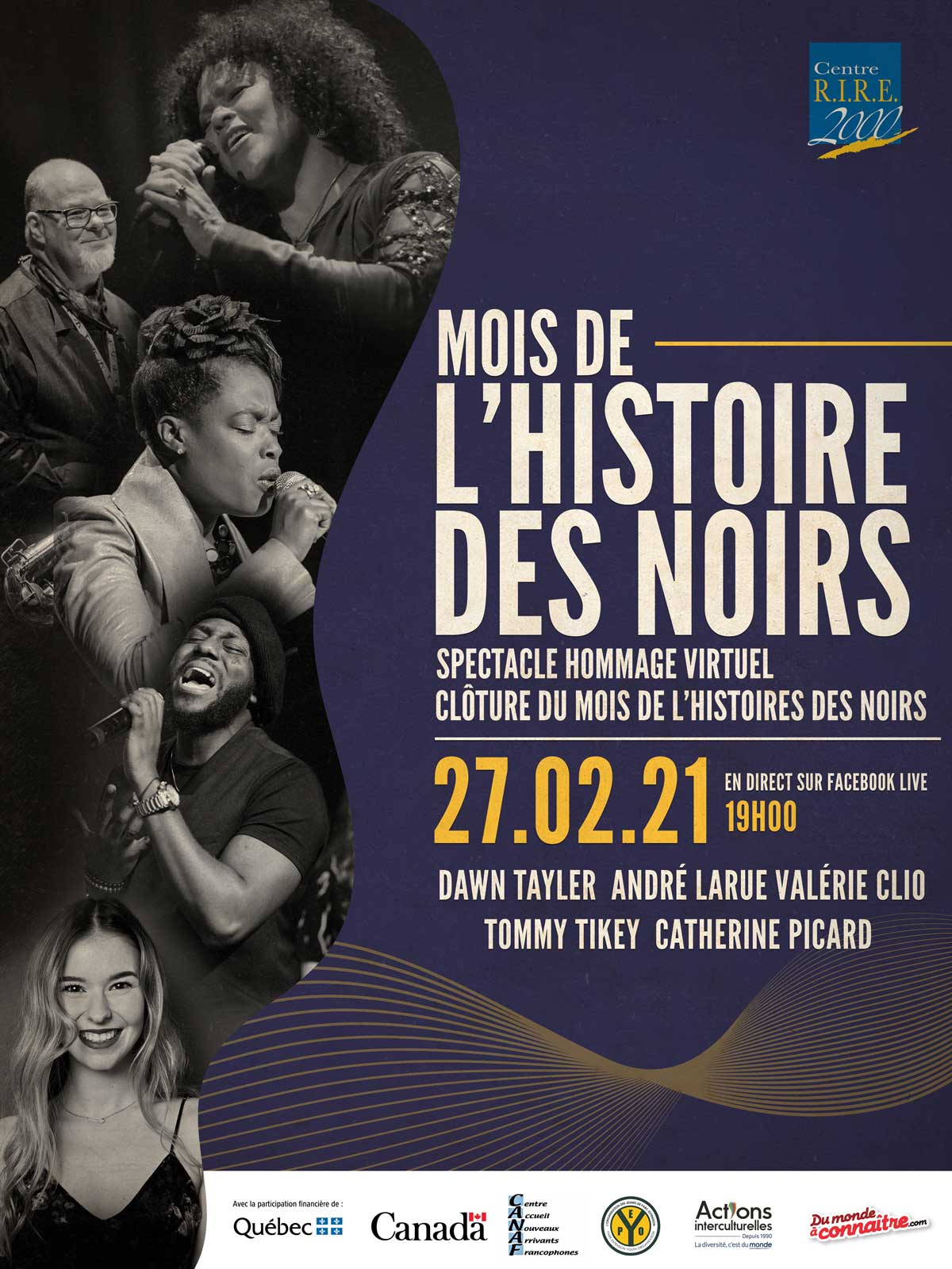 MHN 2021 | Spectacle Hommage virtuel - 27 février